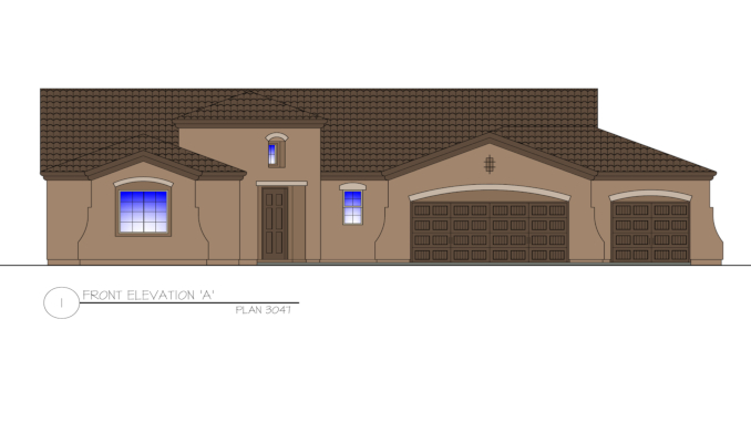 mp-3047 Camelback-Model Home